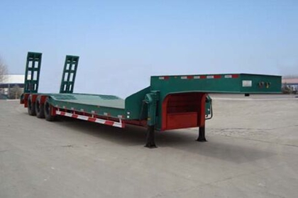 SHACMAN 3 Axles Low Bed Semi-trailer