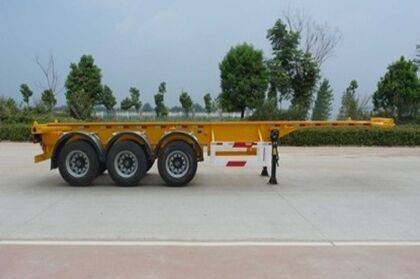 SHACMAN 1x40 FCL Container Transport Semi-trailer