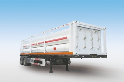SHACMAN CNG Transport Semi-trailer