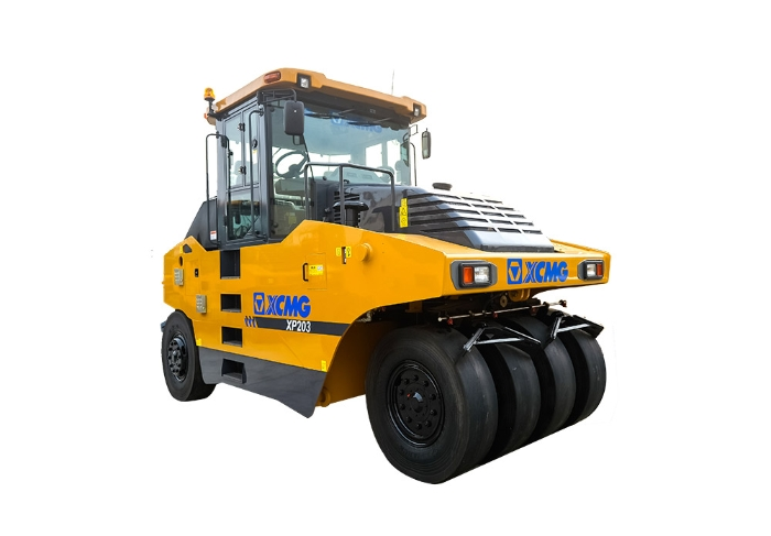 XCMG original manufacturer XP203 20 ton road roller/pneumatic tire roller