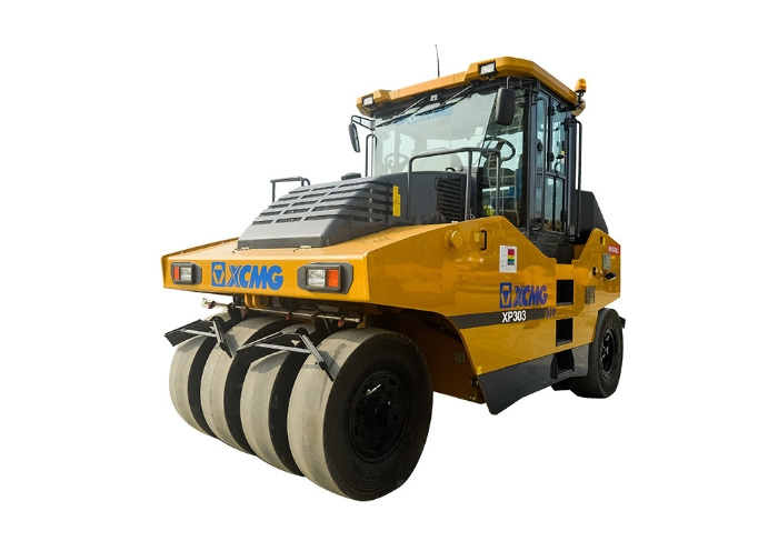 XCMG Official 30ton Pneumatic rubber tire road roller XP303