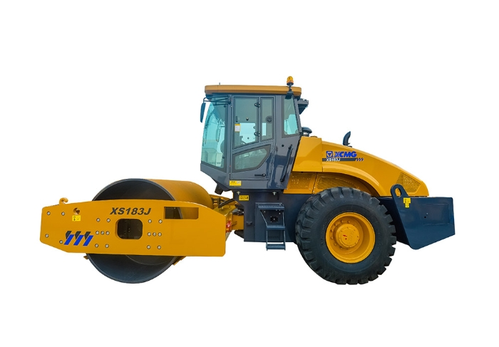XCMG XS183J 18 Ton Single Drum Vibratory Road Roller Compactor Machine
