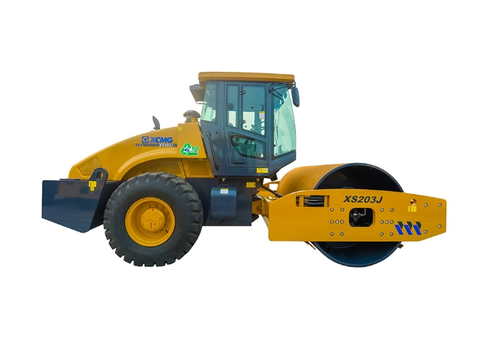 XCMG factory XS203J 20 ton vibratory rc new single drum road roller