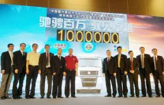 "SINOTRUK PRODUCTS WITH MAN TECHNOLOGY ""ONE-MILLION-KILOMETER CHALLENGE"" FIRST TRUCK SUCCESS"